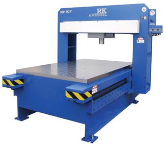 Gantry Straightening Press by RK Machinery